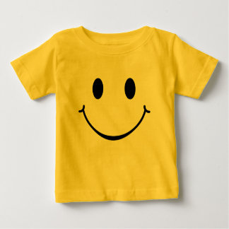 Smiley Happy Face Baby T-Shirt