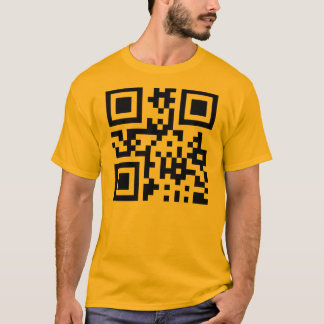 Smiley ☺ Happy Face -- QR Code T-Shirt