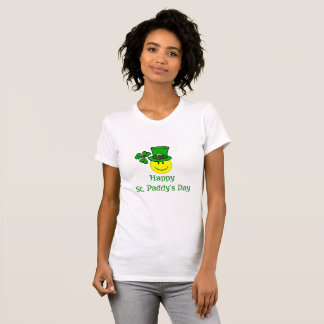 Smiley Happy St. Paddy's Shirts