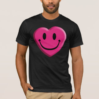 Smiley Heart Big Mouth T-Shirt