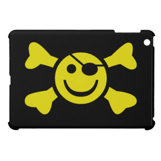 Smiley Jolly Roger iPad Mini Cover