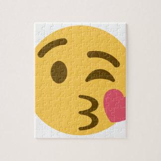 Smiley KIS Emoji Jigsaw Puzzle