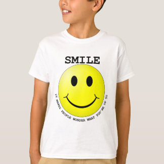 Smiley LIGHTS TRANSPARENT.png T-Shirt