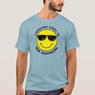 Smiley Looking Cool in Your State T-Shirt