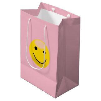 Smiley Medium Gift Bag
