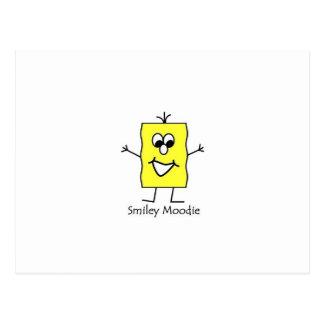 Smiley Moodie Postcard