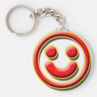 Smiley No. 1 Keychain