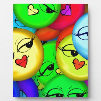 Smiley Photo Plaques
