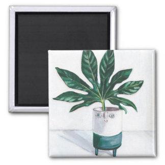 Smiley Planter Magnet