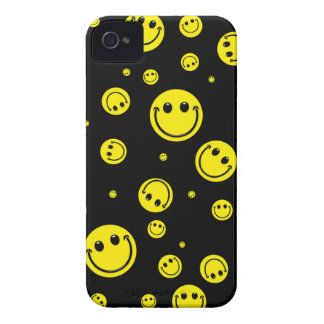 Smiley Polka Dots Case-Mate iPhone 4 Case