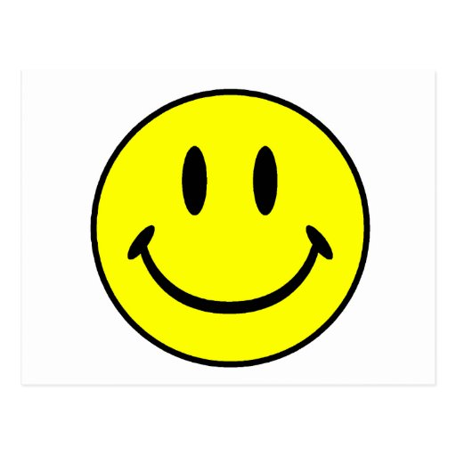 Smiley Post Card