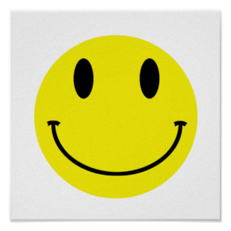 Smiley Poster/Canvas Poster