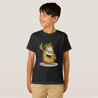 Smiley Potato with Thumbs Up Kids' Hanes TAGLESS T-Shirt
