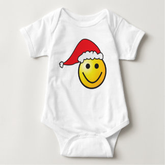 Smiley Santa Baby Bodysuit