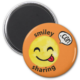 Smiley Sharing Magnet