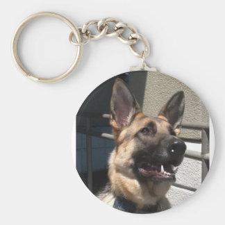 Smiley Shep Key Chain
