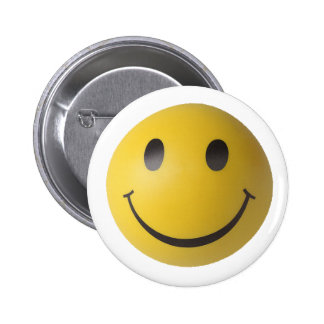 Smiley Smart Expression Smilie 6 Cm Round Badge