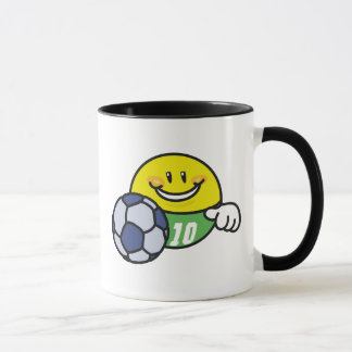 Smiley Soccer Mug