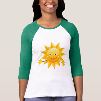 Smiley Sun Design Shirt