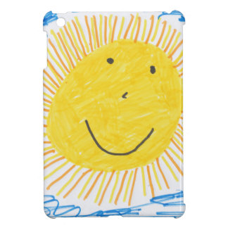 SMILEY SUN KIDS DRAWING COVER FOR THE iPad MINI