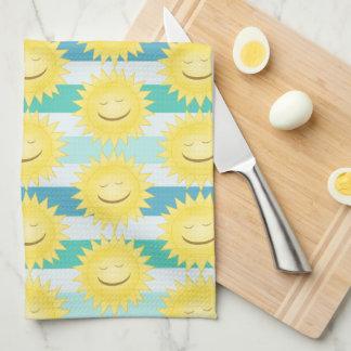 Smiley Sun Kitchen Towel