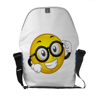 Smiley Theme Bag Messenger Bag