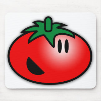 Smiley Tomato Head Mouse Pad