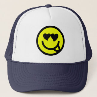 Smiley Trucker Hat