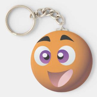 Smiley! UK Bingo Promotions Merchandise Basic Round Button Key Ring