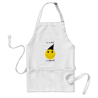 Smiley witch with LOLspeak Standard Apron