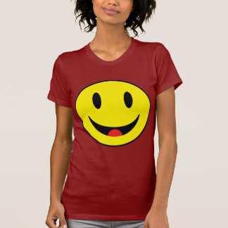 Smiley With Tongue Tee Shirt