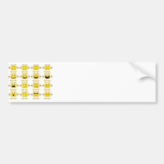 Smileys Bumper Sticker