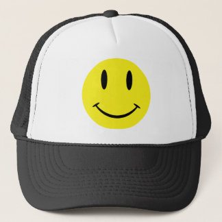 SmileyWithBG Trucker Hat