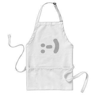 smilie adult apron