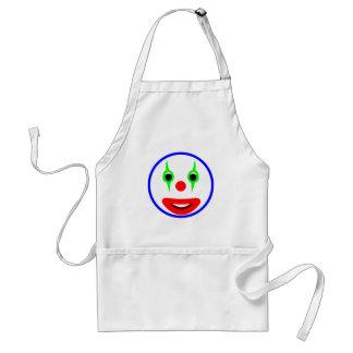 Smilie Clown smiley Schürzen