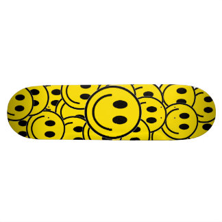 Smilie Face Cruiser Skateboard