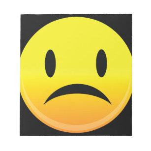 Sad Face Gifts Notepads   Zazzle AU