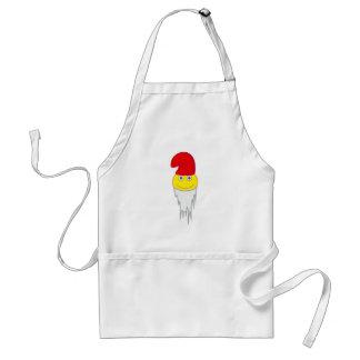 smilie garden gnome guards of gnomes standard apron