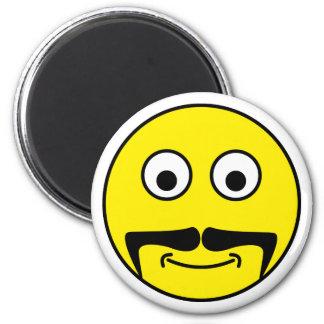 Smilie moustache smiley moustache magnets