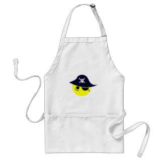 Smilie Pirat smiley pirate Schürze