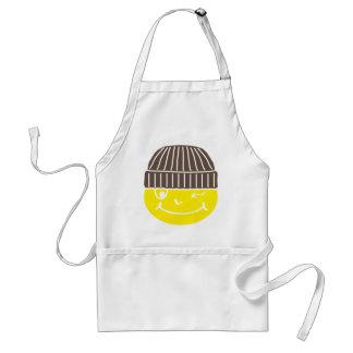 Smilie zwinkernd standard apron