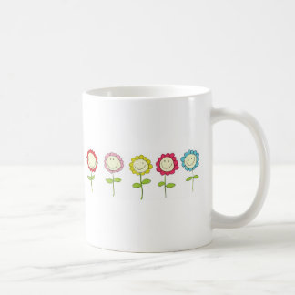 Smilin' Flowers Coffee Mug