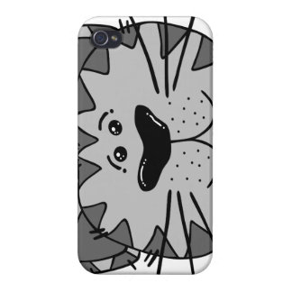 Smiling Alley Cat Case For iPhone 4