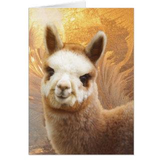 Smiling Alpaca Christmas Cards
