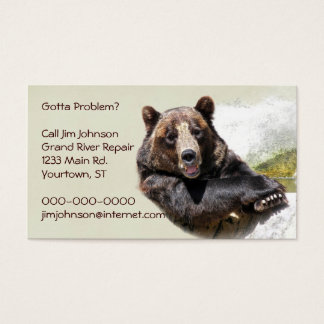 Smiling Bear Business Card