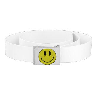 Smiling belt