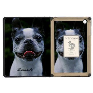 Smiling Boston Terrier iPad Mini Cases