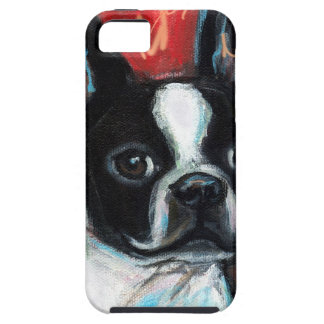 Smiling Boston Terrier iPhone 5 Covers