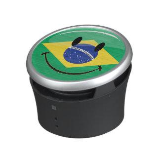 Smiling Brazilian Flag Speaker