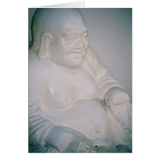 Smiling Buddha Card